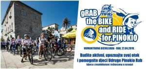 "Pridružite se humanitarnoj biciklijadi ""gRab the Bike and Ride for Pinokio"" / (sub.) 27.04. u 09:30h - Trg sv. Kristofora"
