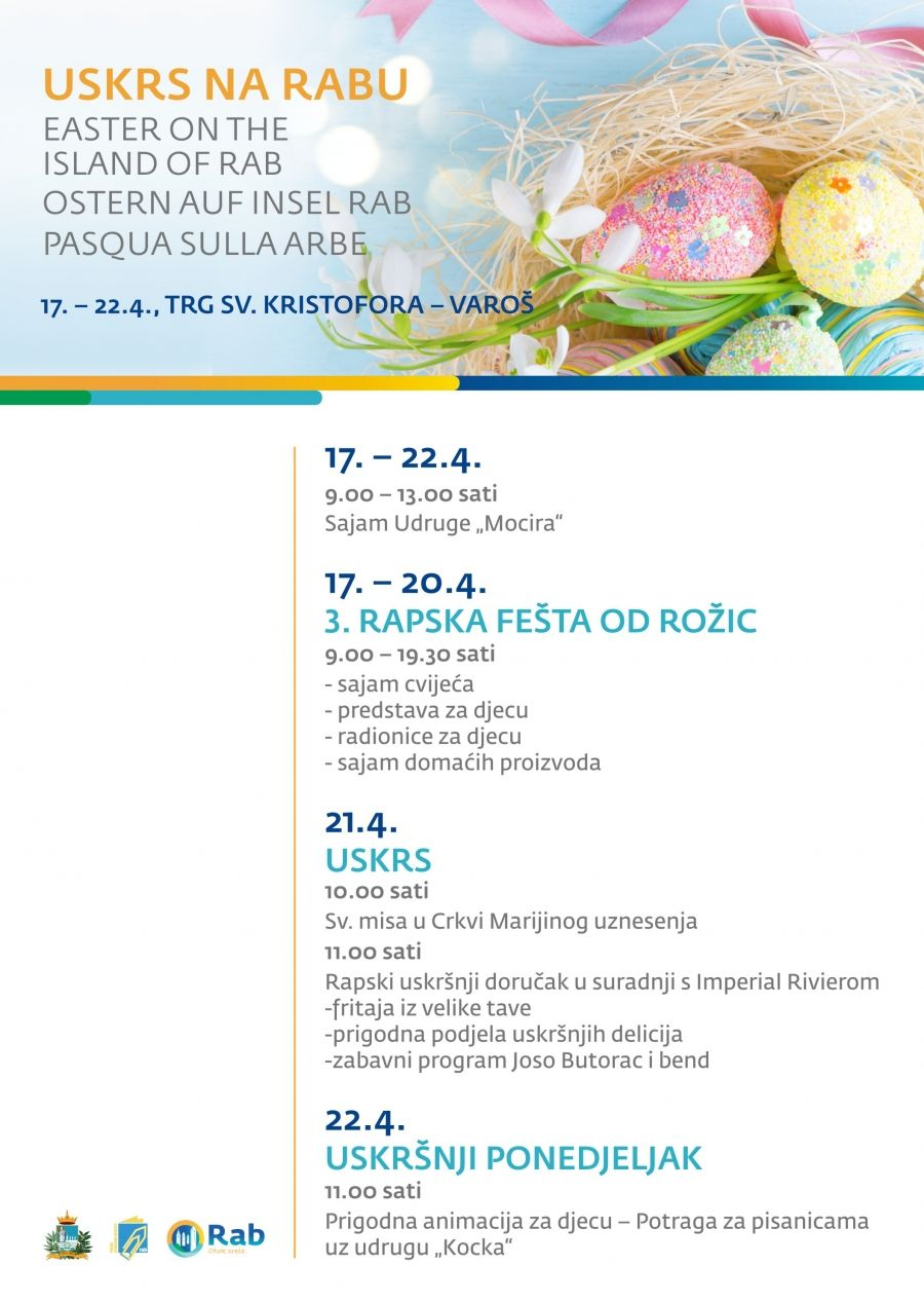 "Program ""USKRSA NA RABU"" od 17. do 22. travnja 2019."